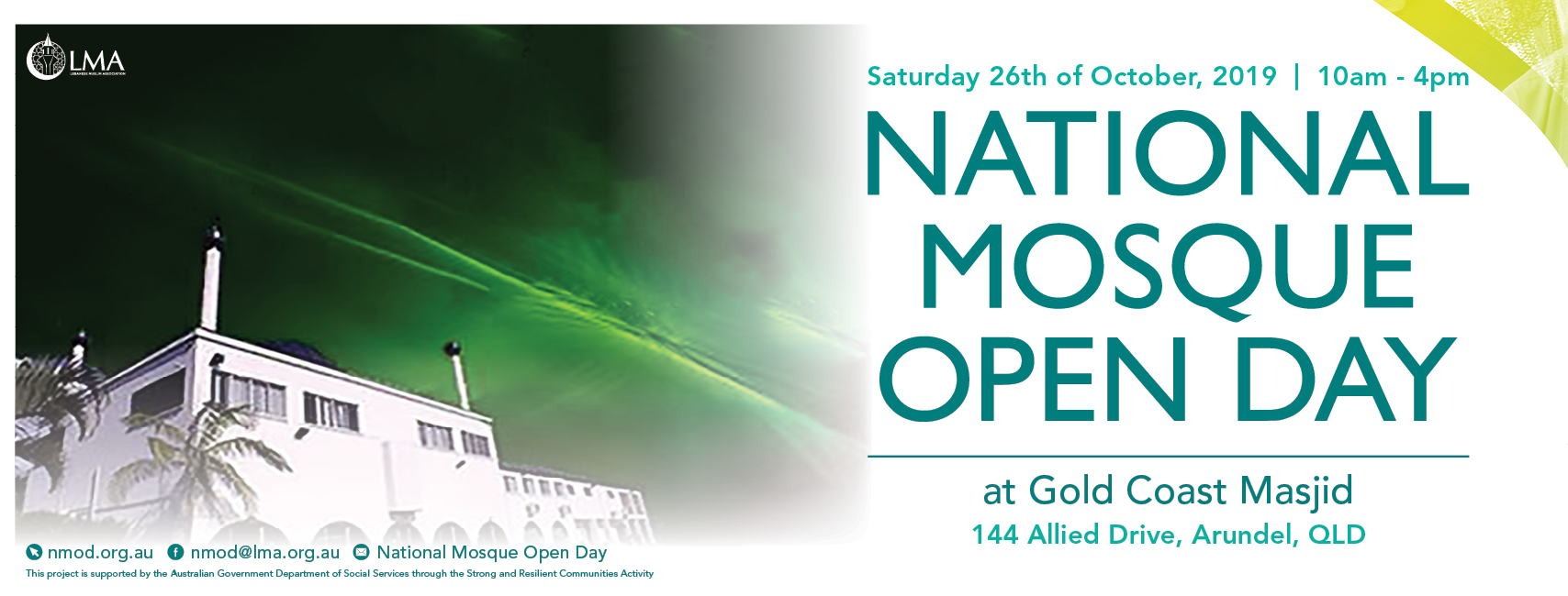 Gold Coast Masjid Mosque Open Day