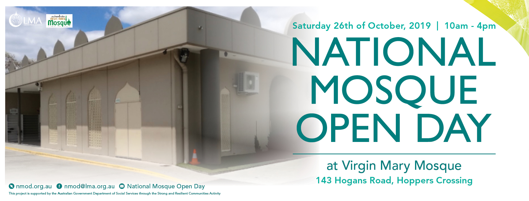 Virgin Mary Mosque Open Day
