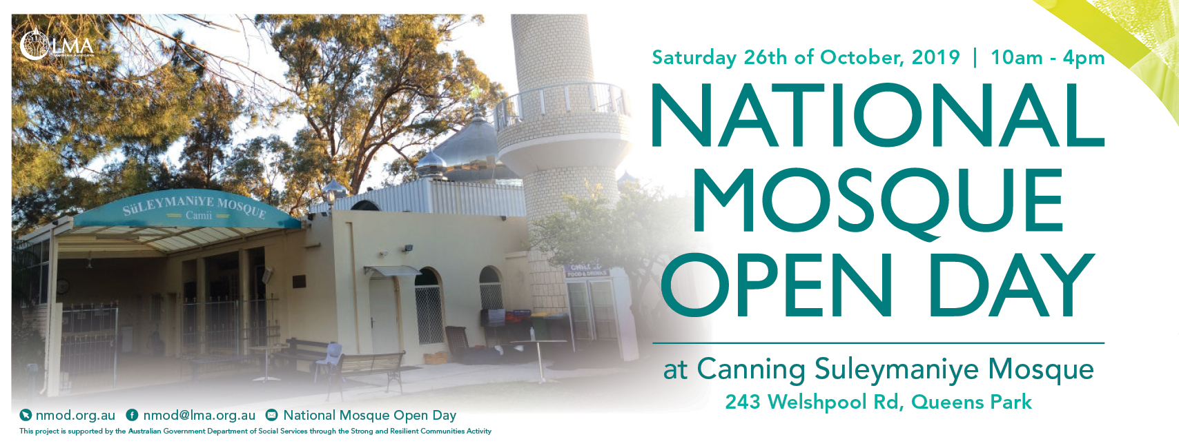 Canning Suleymaniye Mosque Open Day